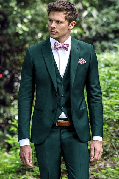 Costume vert 3 pièces Jean de Sey