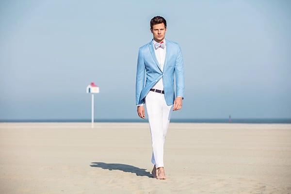 Costume bleu Jean de Sey